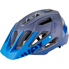 UVEX Quatro Kask rowerowy, blue mat